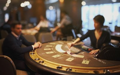 Why a Poker Table at Your Reception Isn't a Crazy Idea